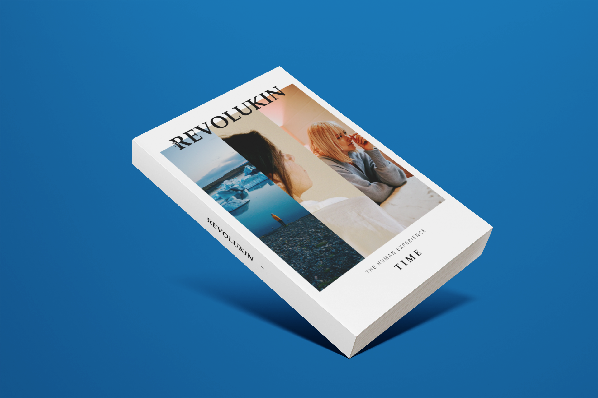 revolukin magazine, issue 1: TIME - Issue 1 explores the human concept of time, following the narratives of creators, artists, activists, researchers, and everyday humans.