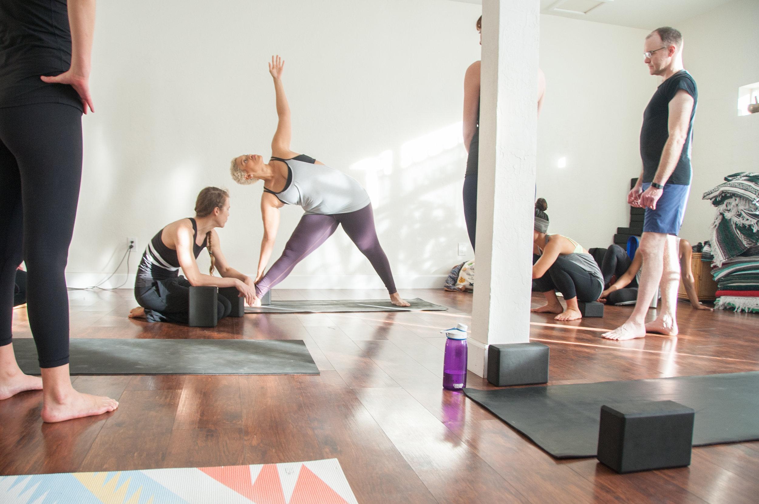 yoga teaching extension