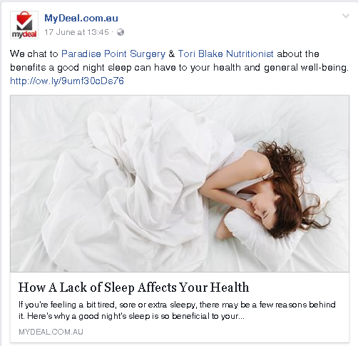 Insomnia and affects on health.