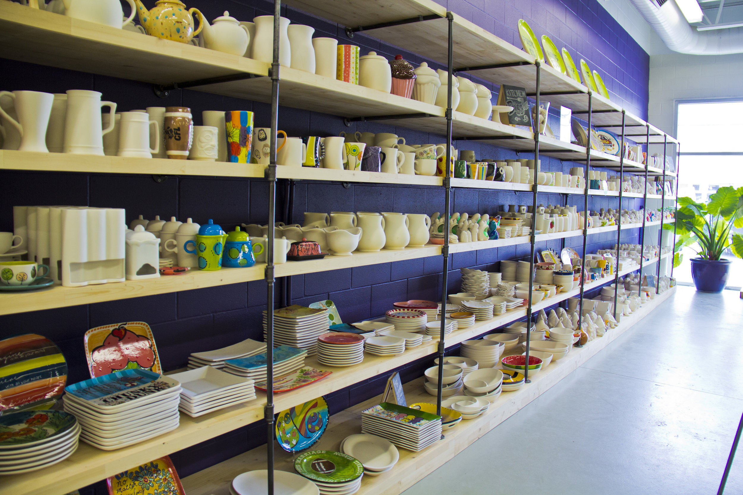 Book your pottery party now