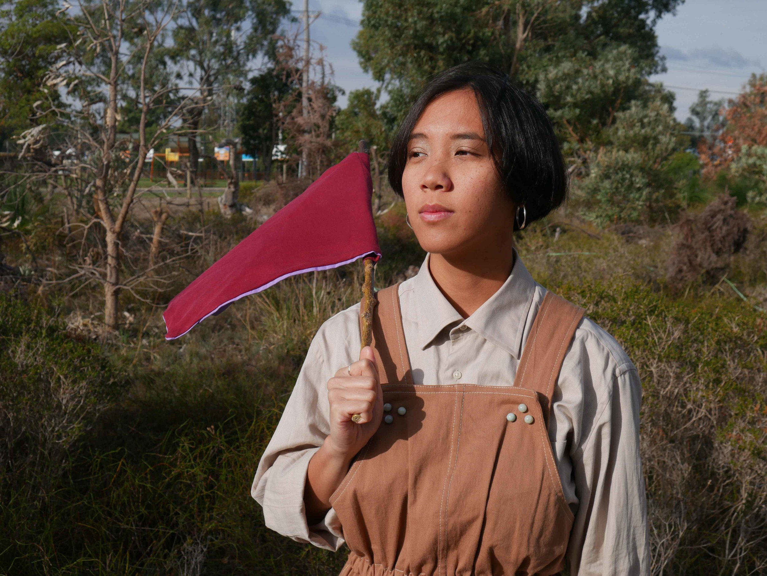 - An emerging multidisciplinary artist and community arts facilitator, Gabby is a Co-Director of Paper Mountain, Coordinator of Belonging and creator of the CaLD & ATSI Creatives of WA group. She is currently a Creative Fellow at the State Library of WA.