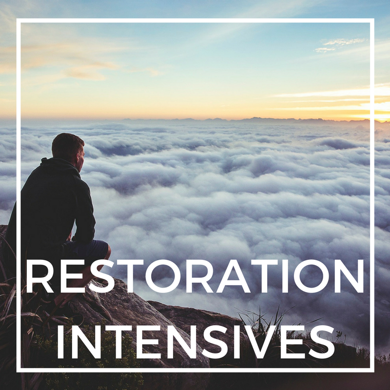 Restoration Intensives - 3-day, 15 hour personal re-story intensive, designed specifically for you. We've been privileged to host MANY Cru staff! Perfect when you want to work on your heart, but have limited time.
