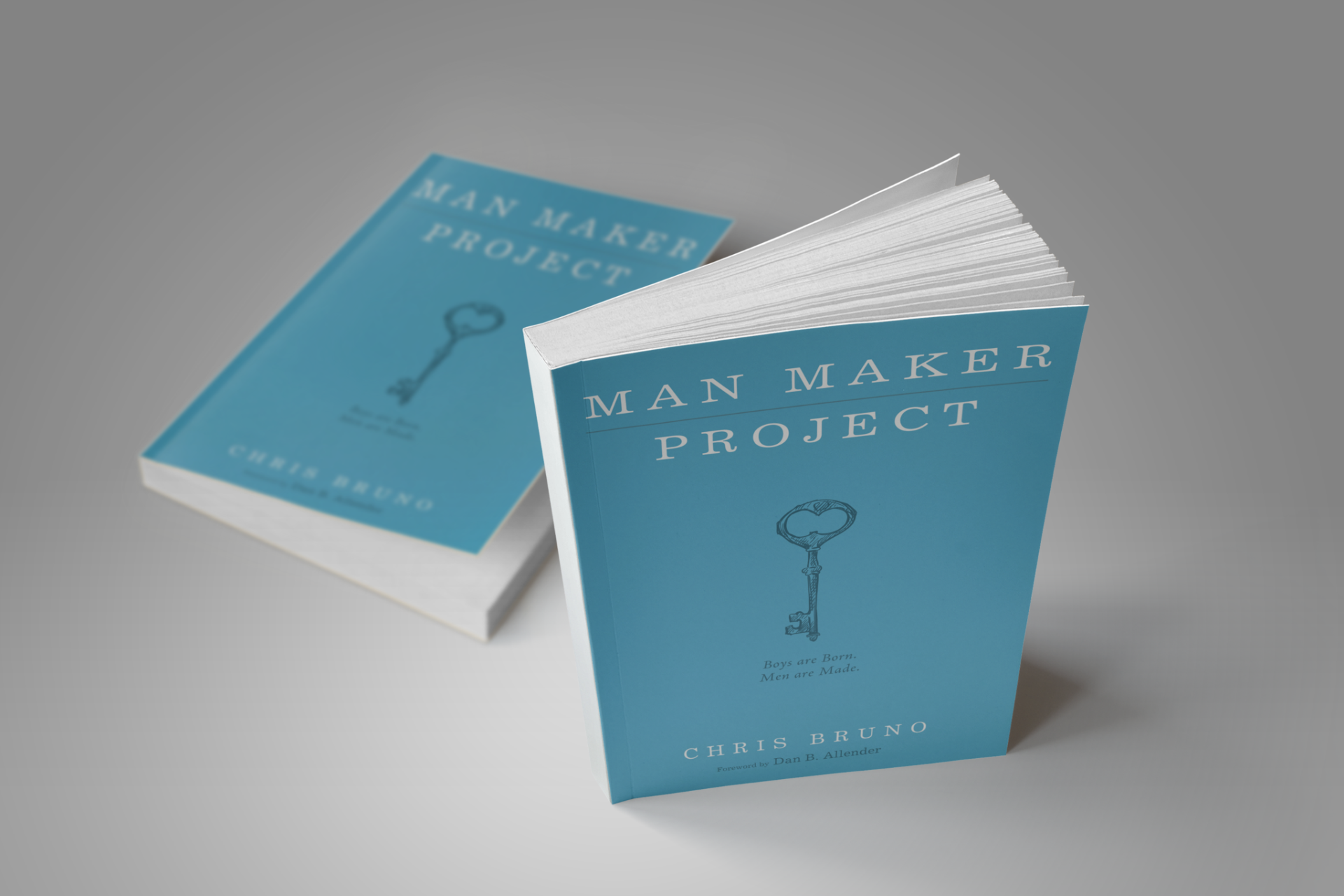 """Man Maker Project: Boys are Born. Men are Made - """"Father"""" is a verb, and fathering is the highest calling of God on men.Man Maker Projectis a guide for fathers to intentionally usher their sons into godly manhood. By Chris Bruno"""