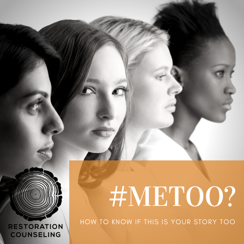 October 18, 2018 Press Release - Restoration Counseling Sees Significant Increase in Sexual Assault Disclosures Since Kavanaugh HearingREAD PRESS RELEASEDOWNLOAD #METOO? RESOURCE