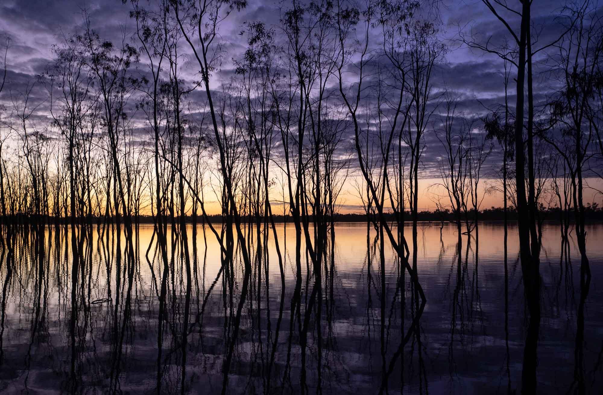 Lake Mournpall at dawn