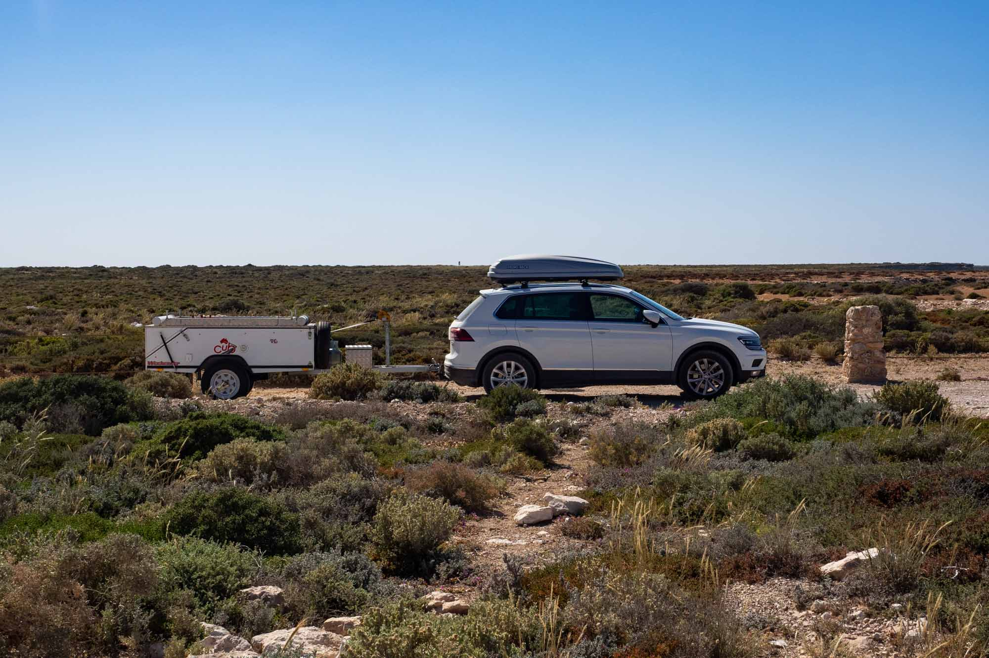 One of the viewing points along the Nullarbor stretch of the Eyre Highway.