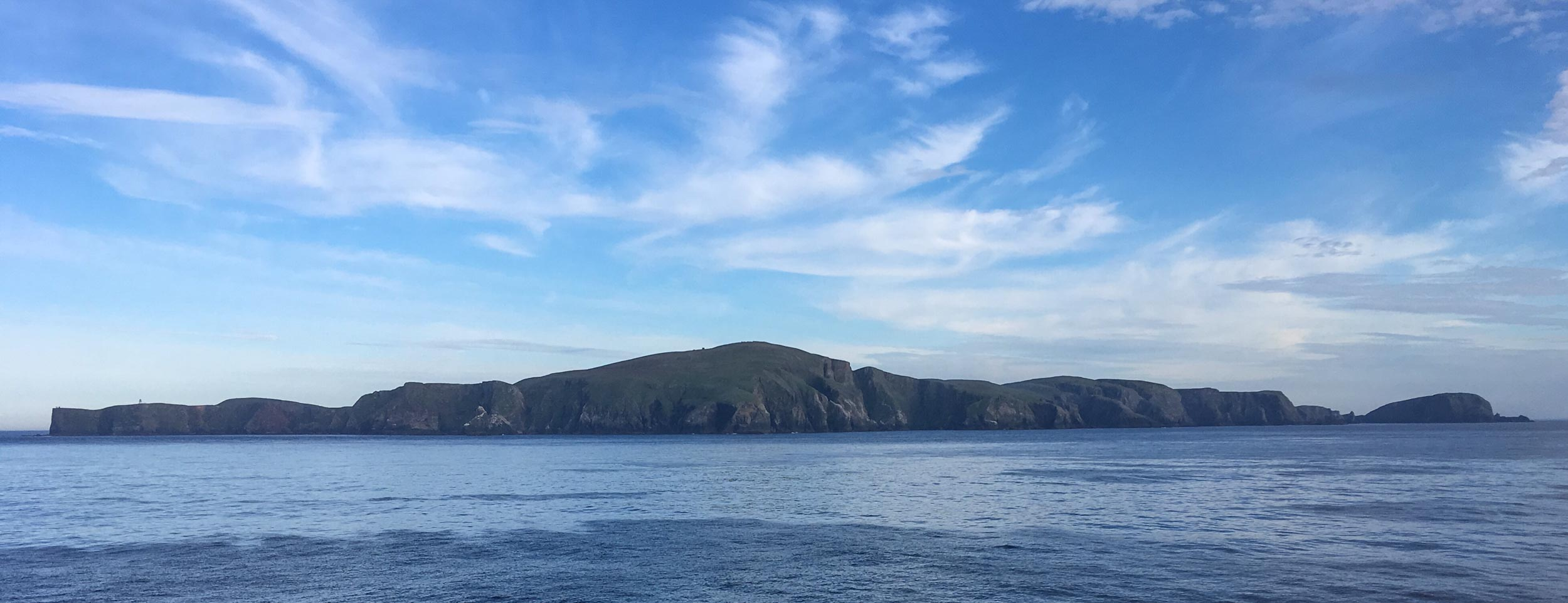 FAIR ISLE, the northern coast