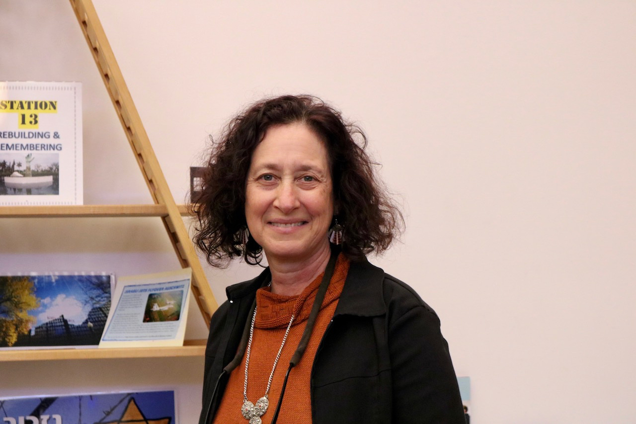 Iris at the 2017 CHAIM exhibit.