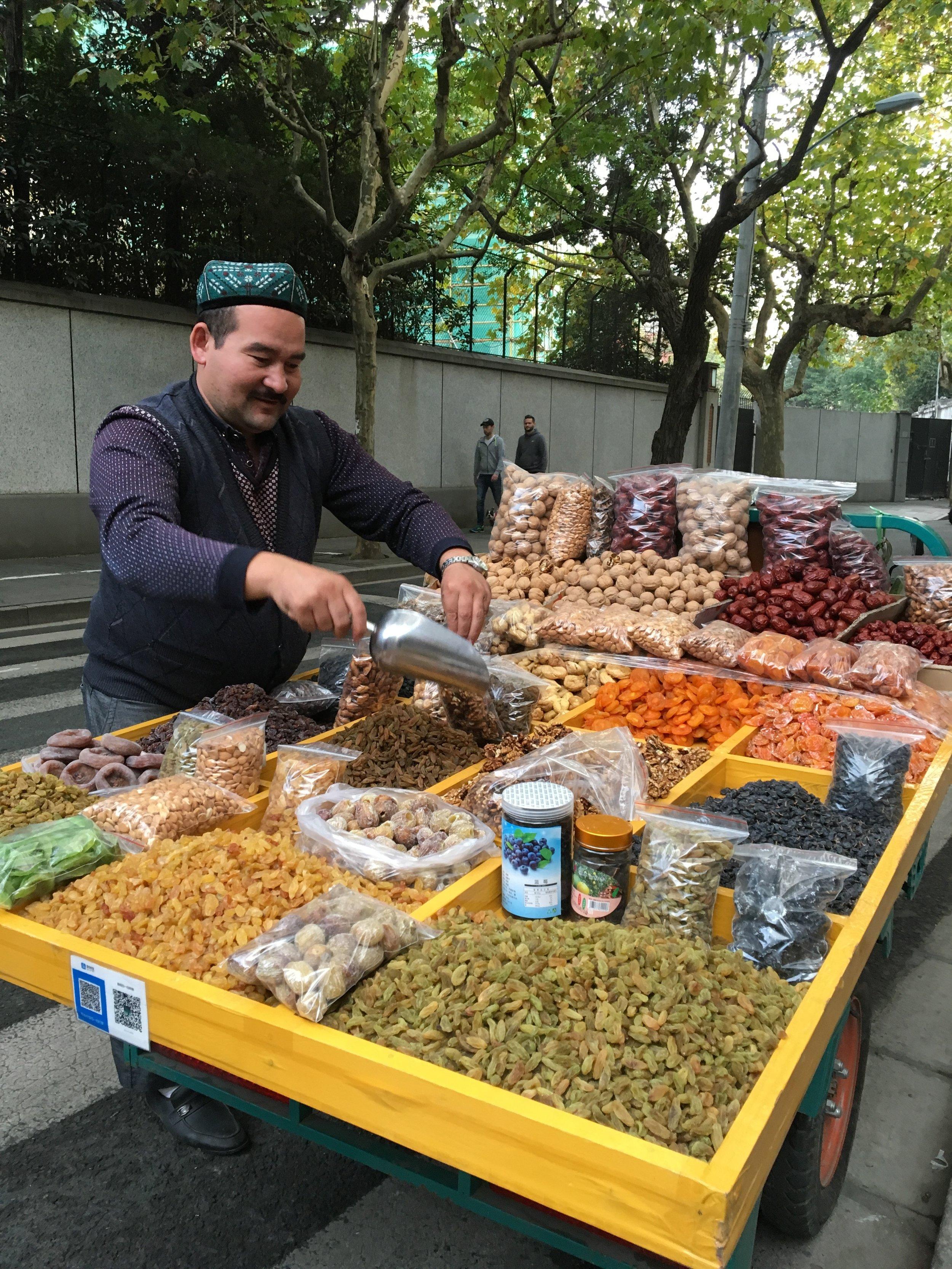 A Street Vendor from Xinjiang