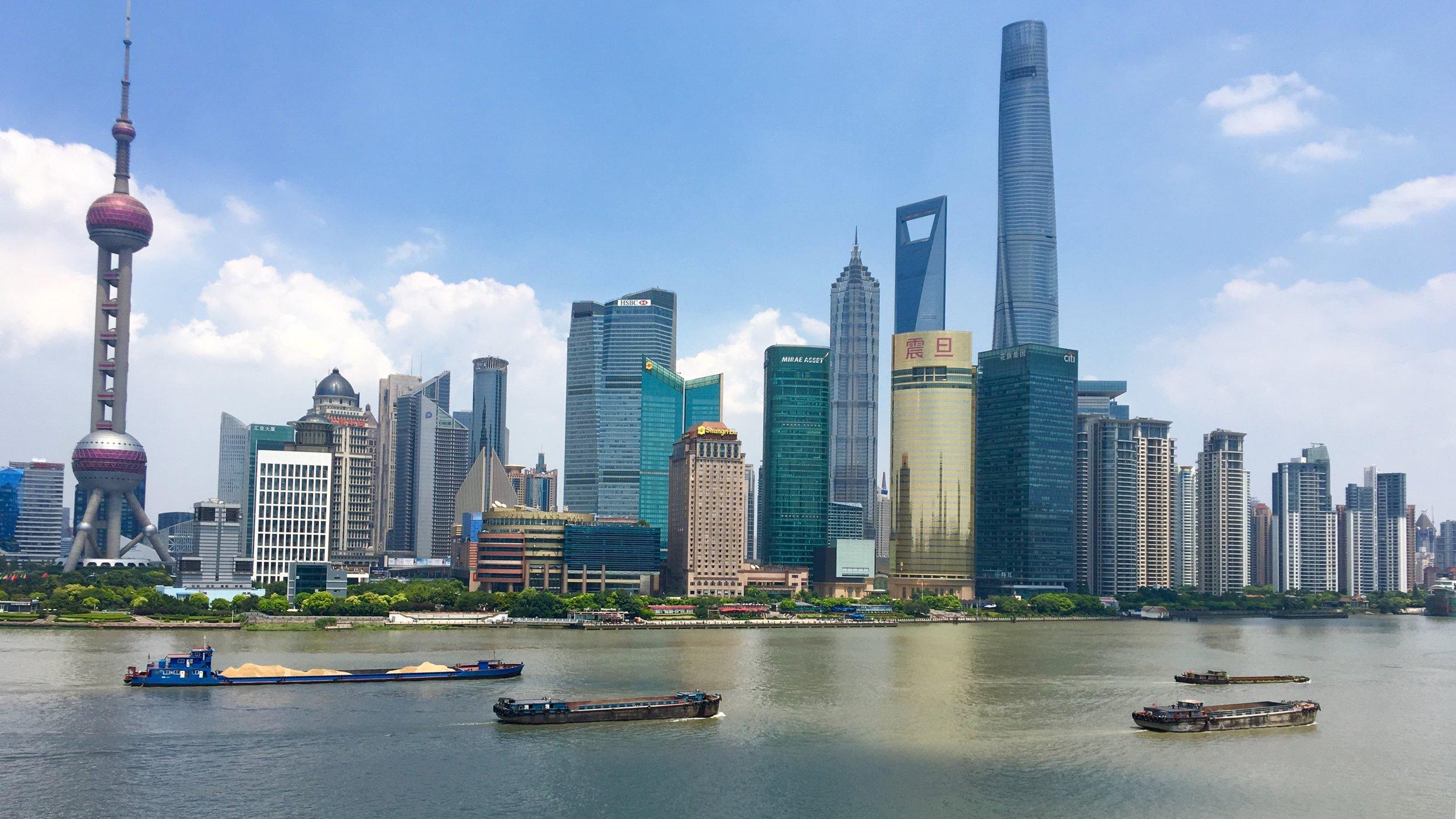 The Iconic Shanghai Skyline