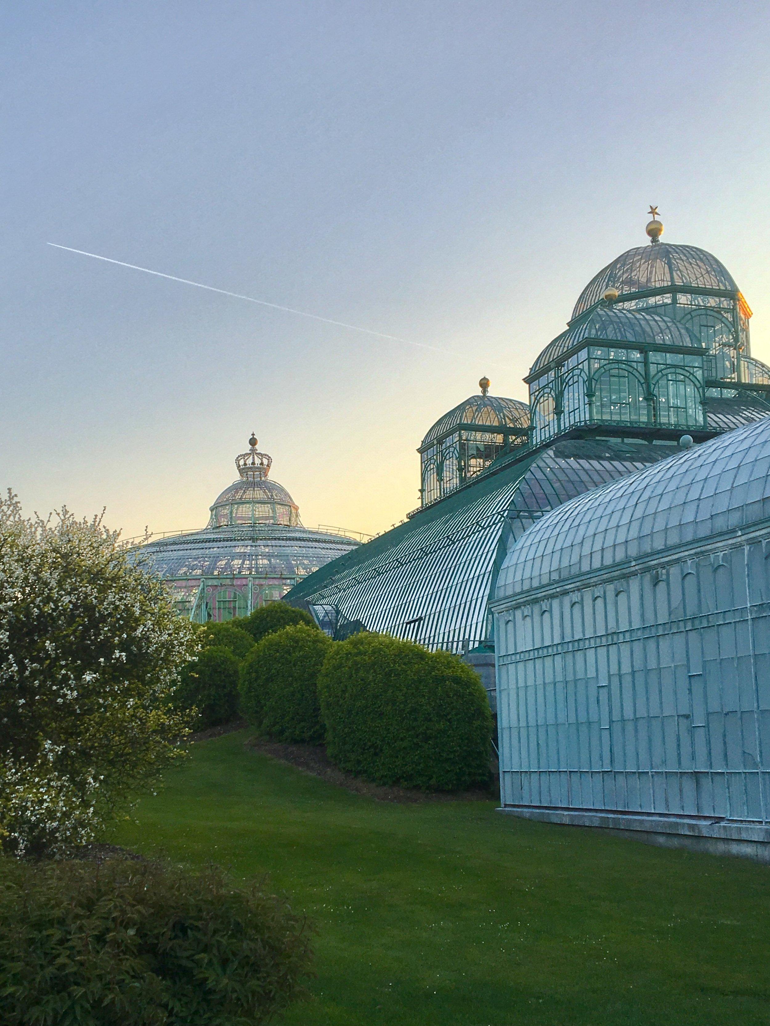 Majestic Greenhouses of Laeken Palace