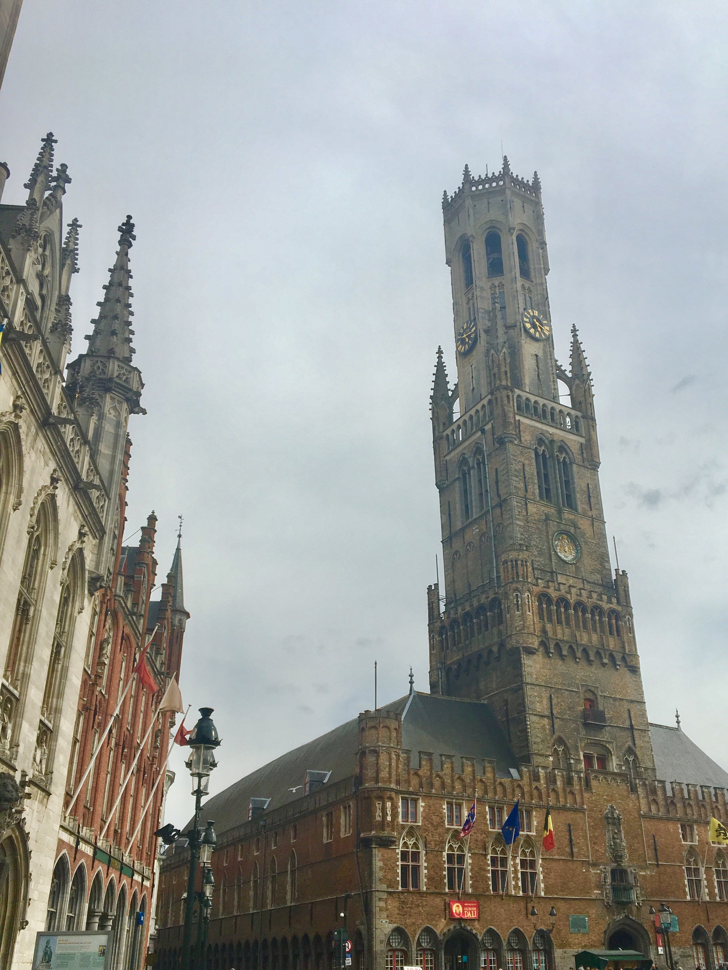 Iconic Cathedral of Bruges