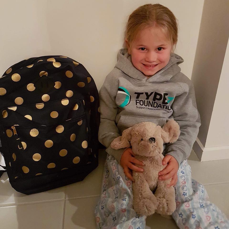 The type1 foundation sends care packages all over australia to newly diagnosed children….