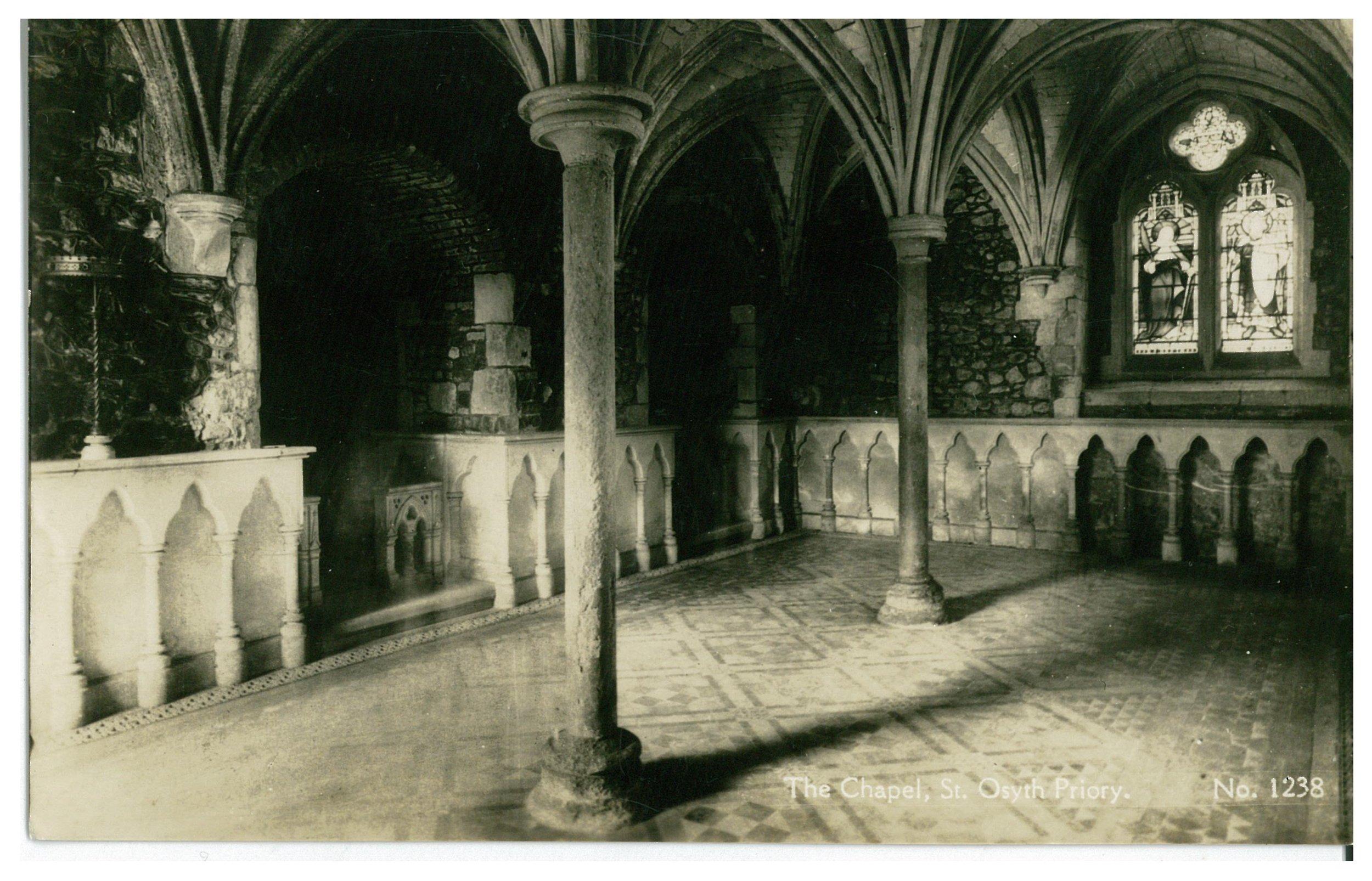 St Osyth - The Chapel 1937.JPG
