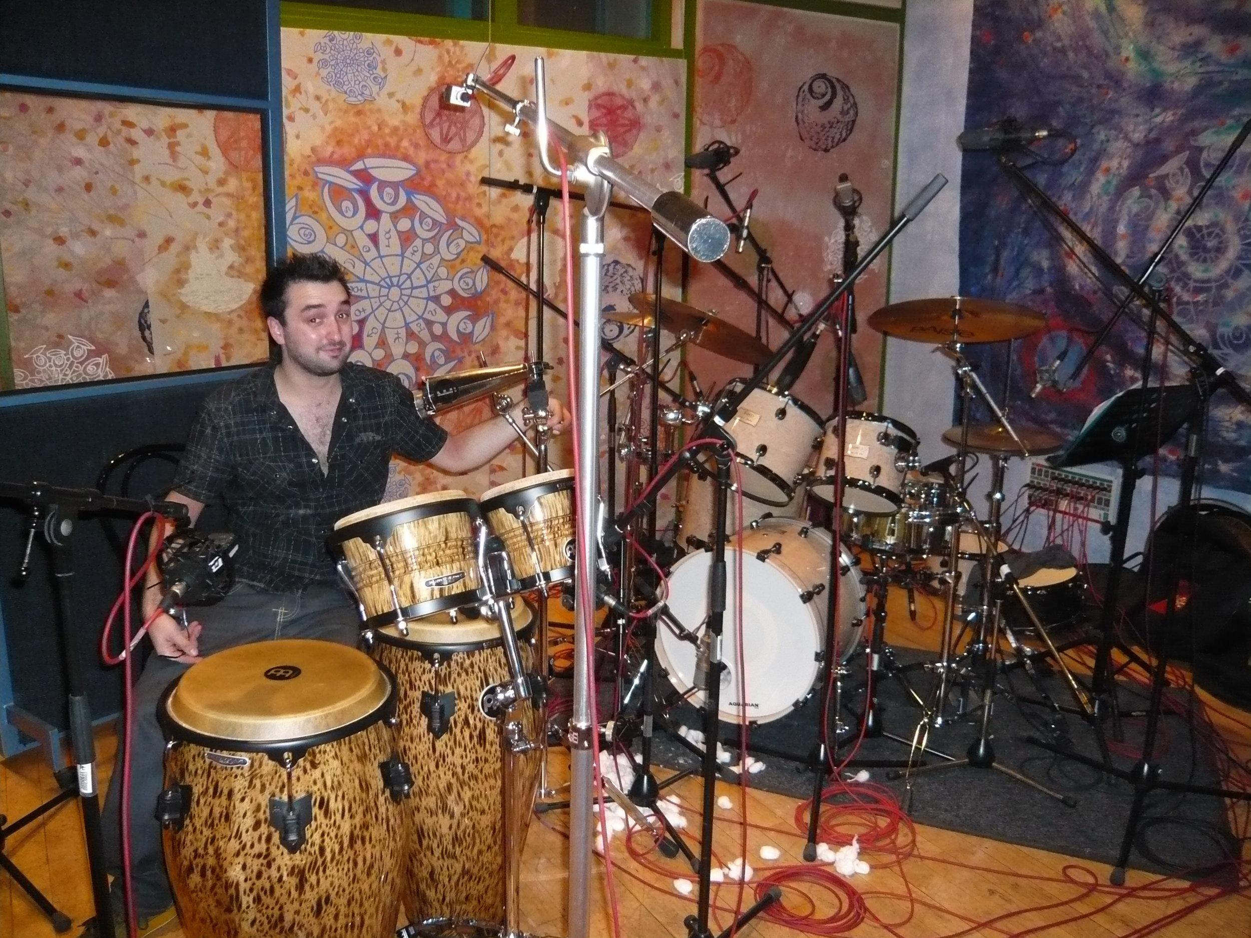 At Strongroom Studio