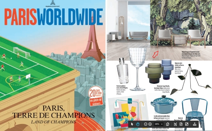 PARIS AIRPORTS consumer magazine ( 2019 may-june edition)