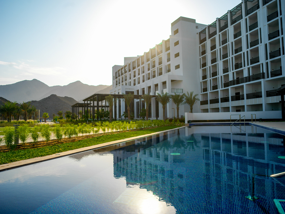 Hotels and Resorts Photography by Mott Visuals, work for InterContinental Fujairah Resort, UAE. Photographer Justin Mott. To see more of our work please visit www.mottvisuals.com