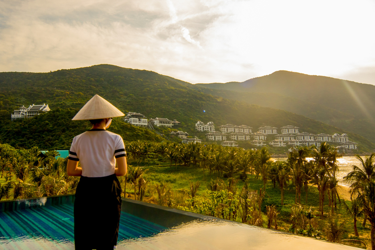 TVC & Photography For Intercontinental Danang Sun Peninsula by Mott Visuals. Photographer Justin Mott. To see more of our work please visit www.mottvisuals.com