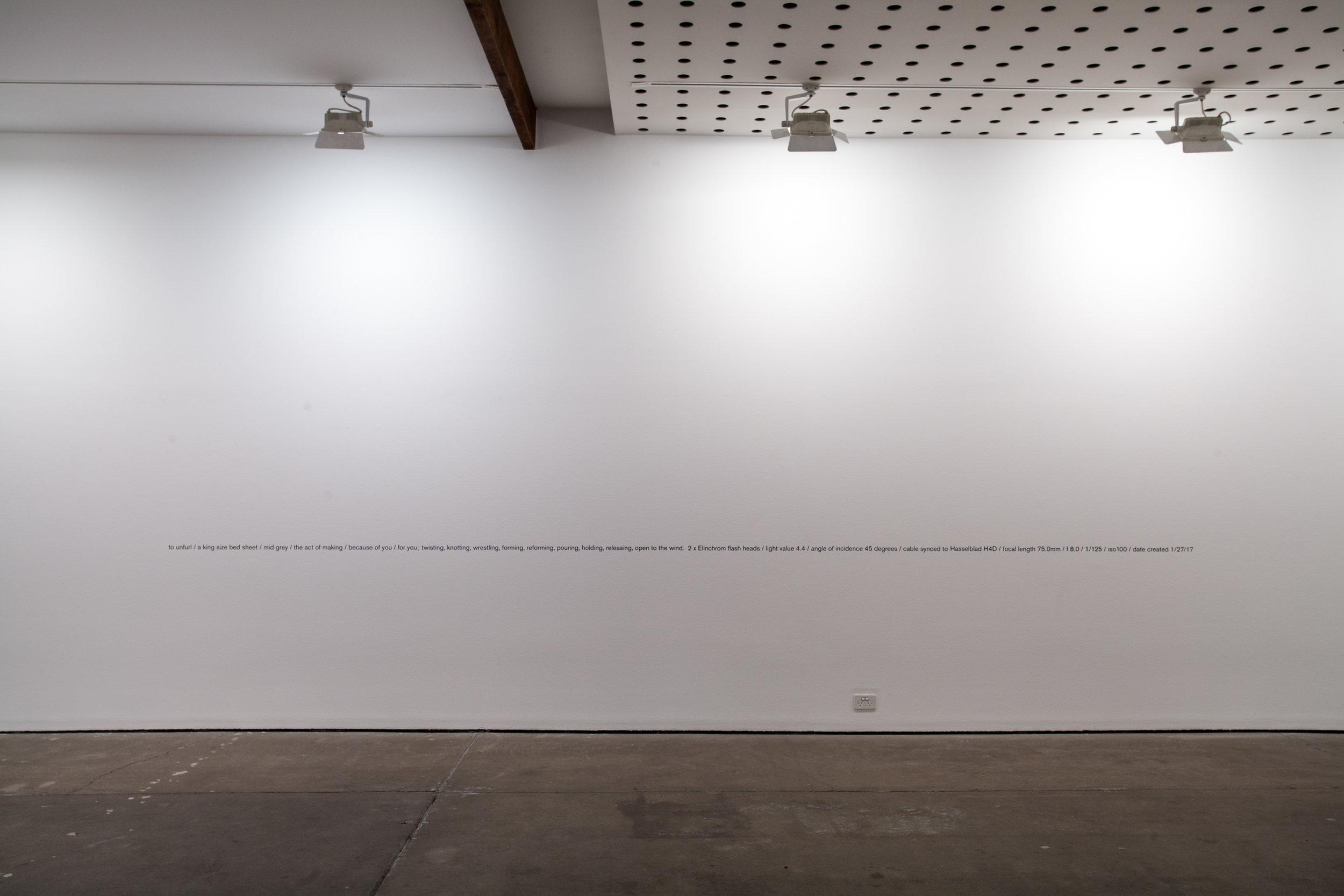 7 meter vinyl wall text