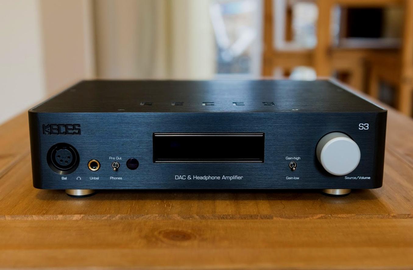 S3 - DAC Headphone Amplifier & Preamplifier