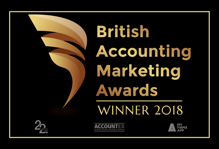 British Accountancy Marketing Awards 2018 'Rising Star' Winners! -