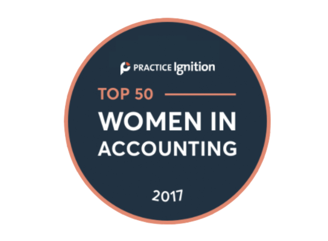 Top 50 Women in Accounting 2017. -