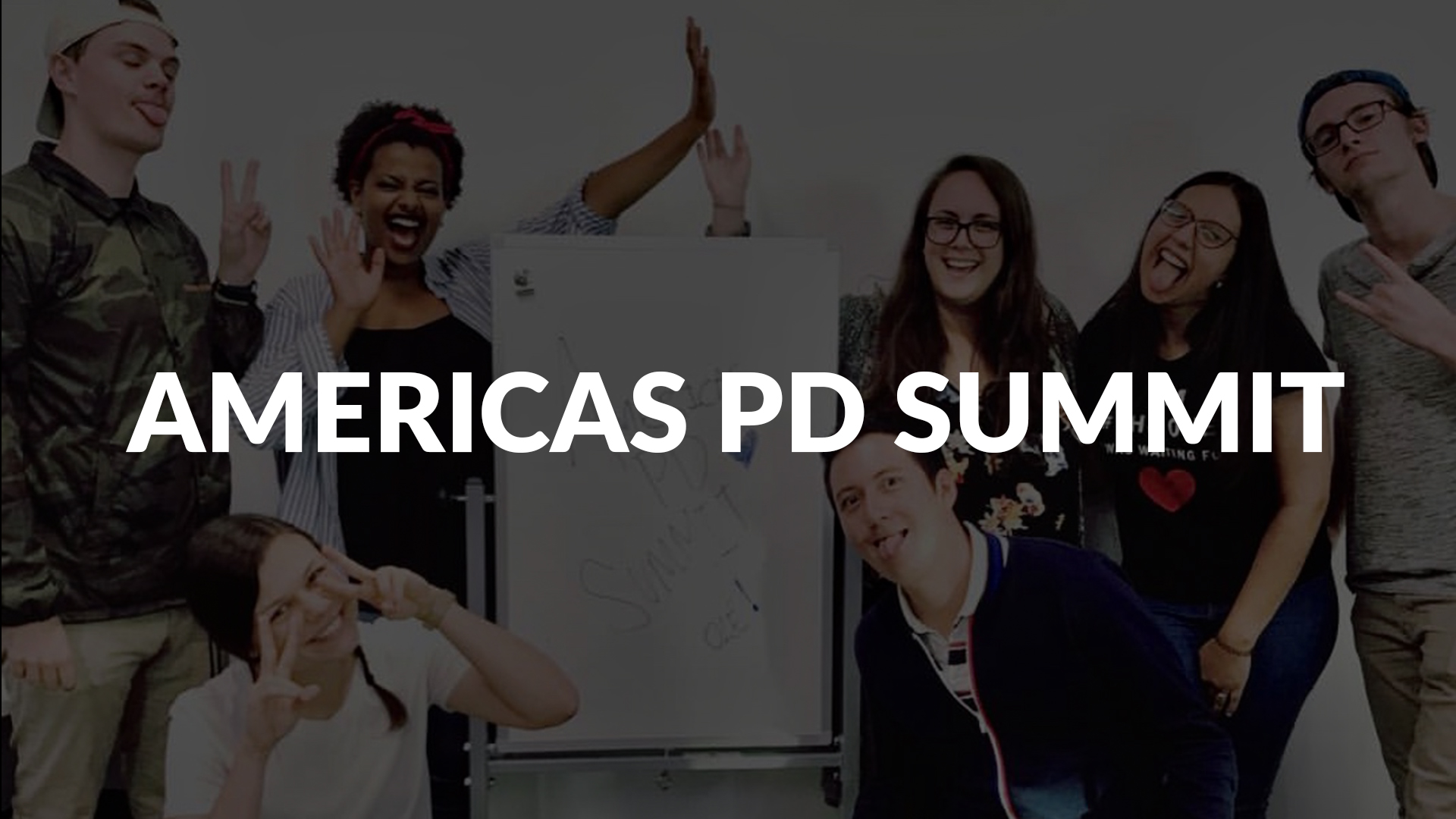 View output from the 2018 PD Summit in Montreal.