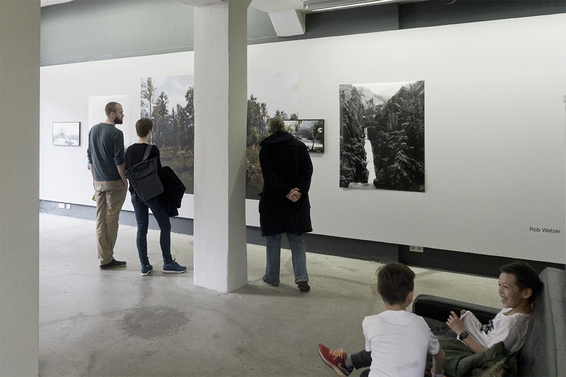 Installation view of Lost Worlds @  SImulacrum . Noorderlicht Photogallery, Groningen 2017