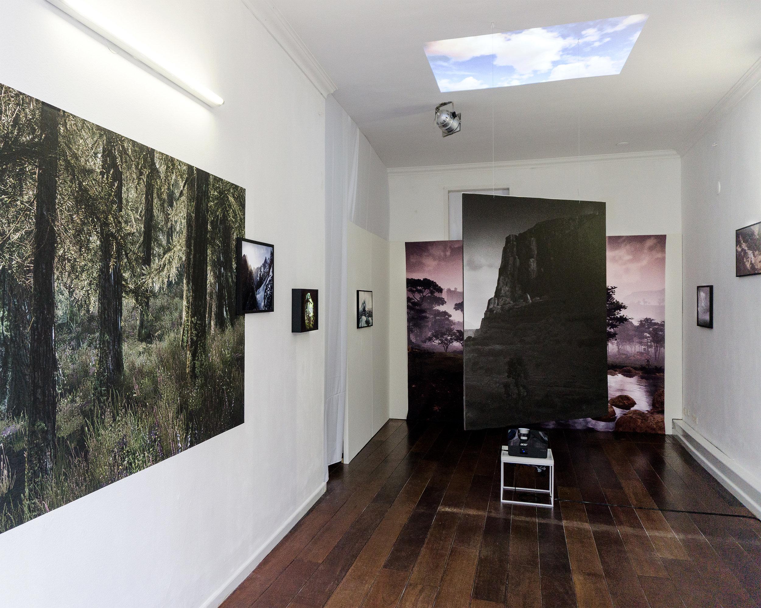 Installation view of Lost Worlds @ FFS Gallery. Foto Festival Schiedam, 2017