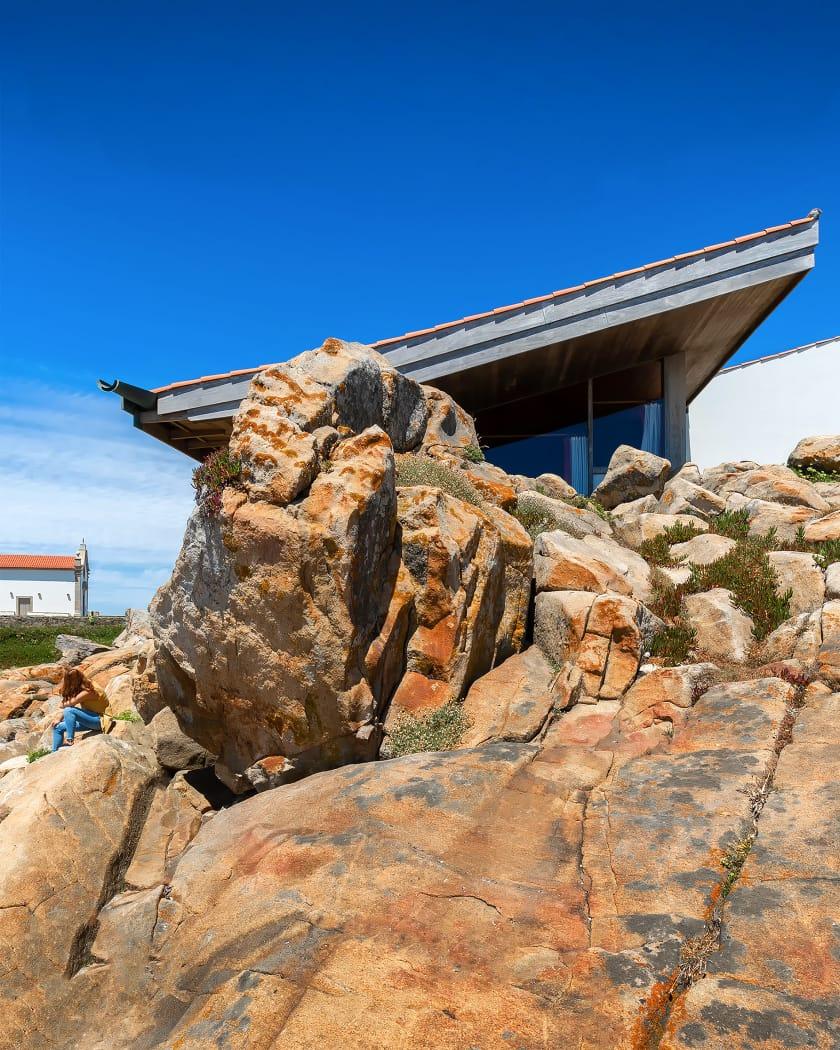 Casa de Chá da Boa Nova do Arquiteto Alvaro Siza (Leça da Palmeira, Portugal)