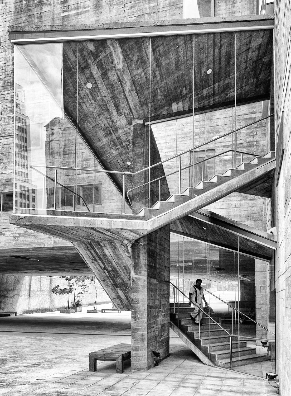 Passo das Artes, São Paulo  Foto premiada em 2018 pelo Instituto de de Arquitetos do Brasil - Categoria Fotografia de Arquitetura e Cidade