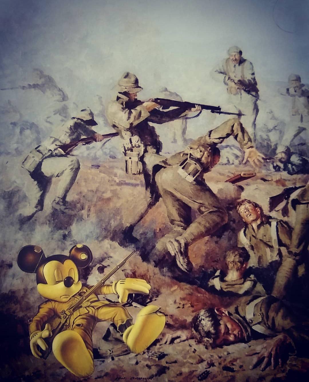 A Guerra / Ilusões Perdidas, 2018  Tamanho: 21 x 30 cm  Técnica: Colagem  R$ 1.200,00