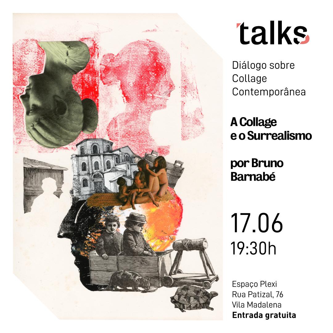 A Collage e o Surrealismo. - O dialogo apresenta uma proposta investigativa sobre o que é collage e o poder da linguagem sobre os movimentos artísticos que refletem na sociedade contemporânea.
