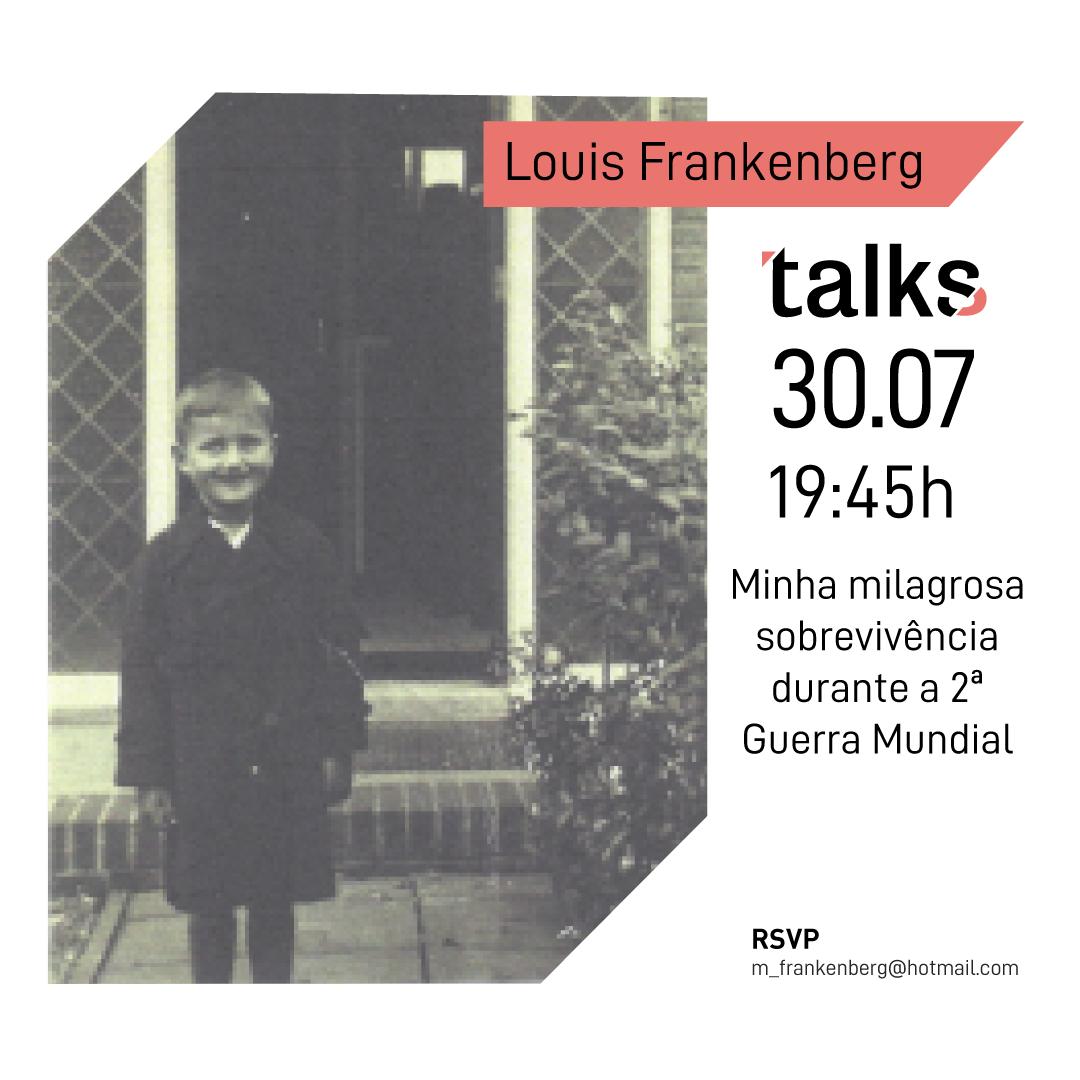 Minha milagrosa sobrevivência durante a 2ª GM - Louis Frankenberg documenta os anos vividos nos campos de concentração de Westerbork e Therensistadt.