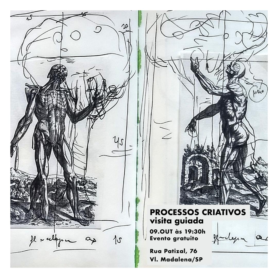 """TALK ARTE comFlávio Grão - Flávio Grão conversa e revela o processo de criação das pinturas presentesna exposição """"Na arte faço minha morada""""."""