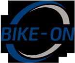 Bike on logo
