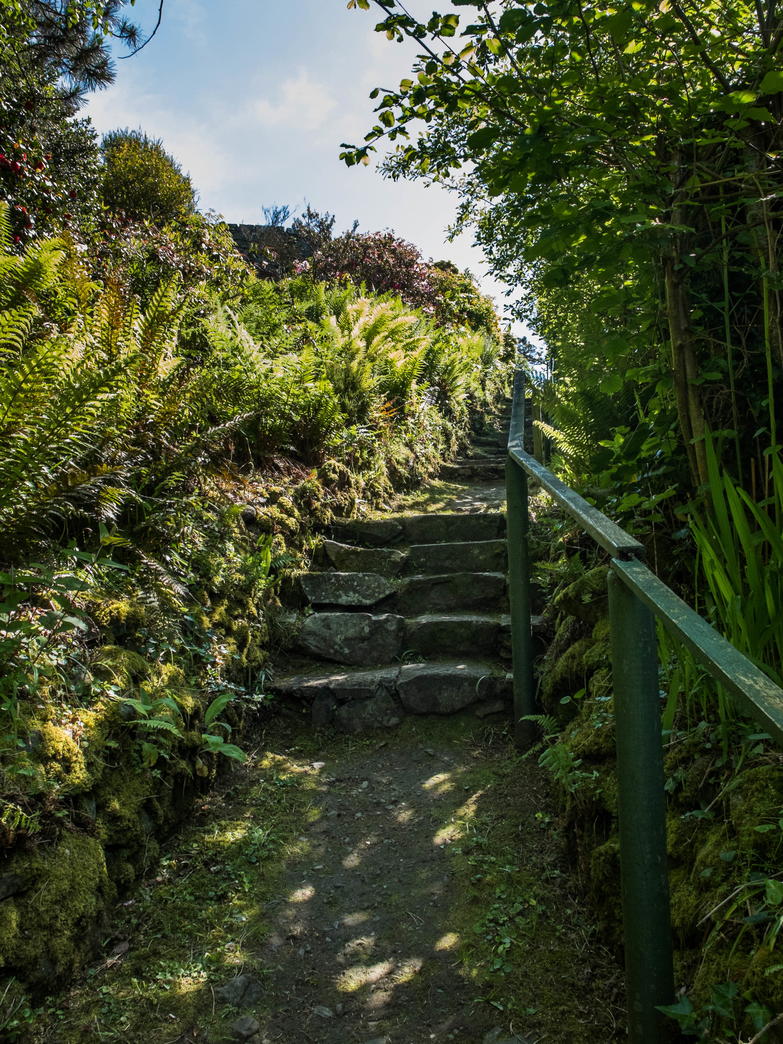 Private footpath at Hafod Wen