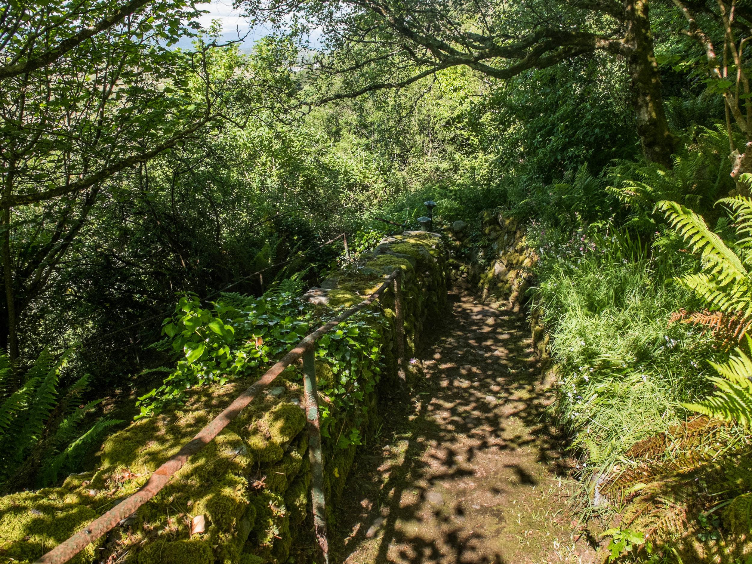 Private footpaths at Hafod Wen