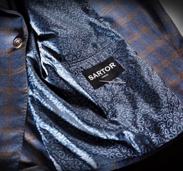 Sartor London we believe in the importance of considered details