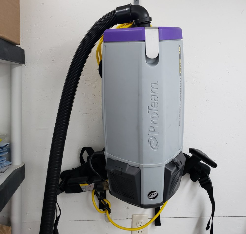 ProTeam Backpack HEPA Vacuum