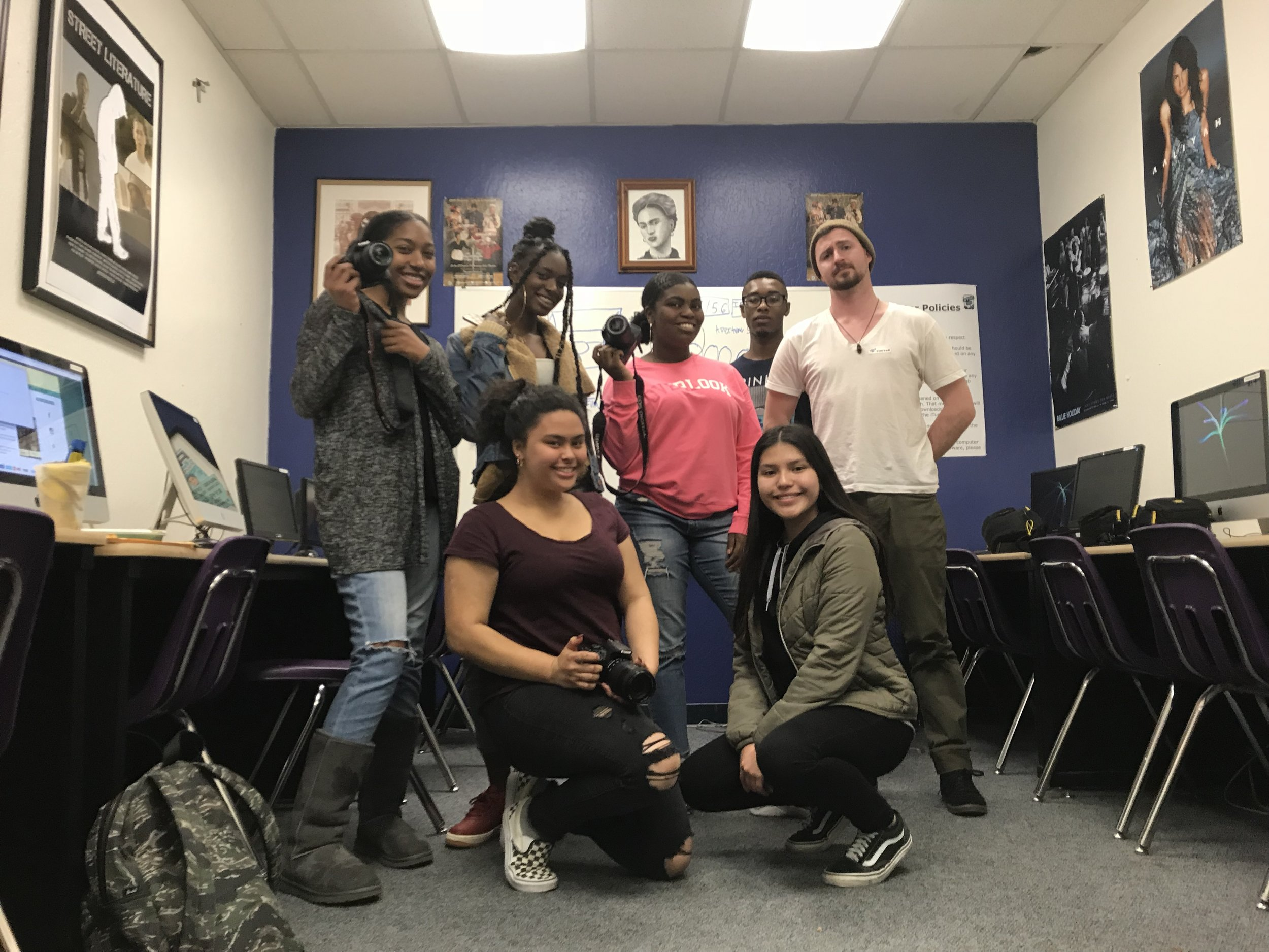Youth-led Photography Class