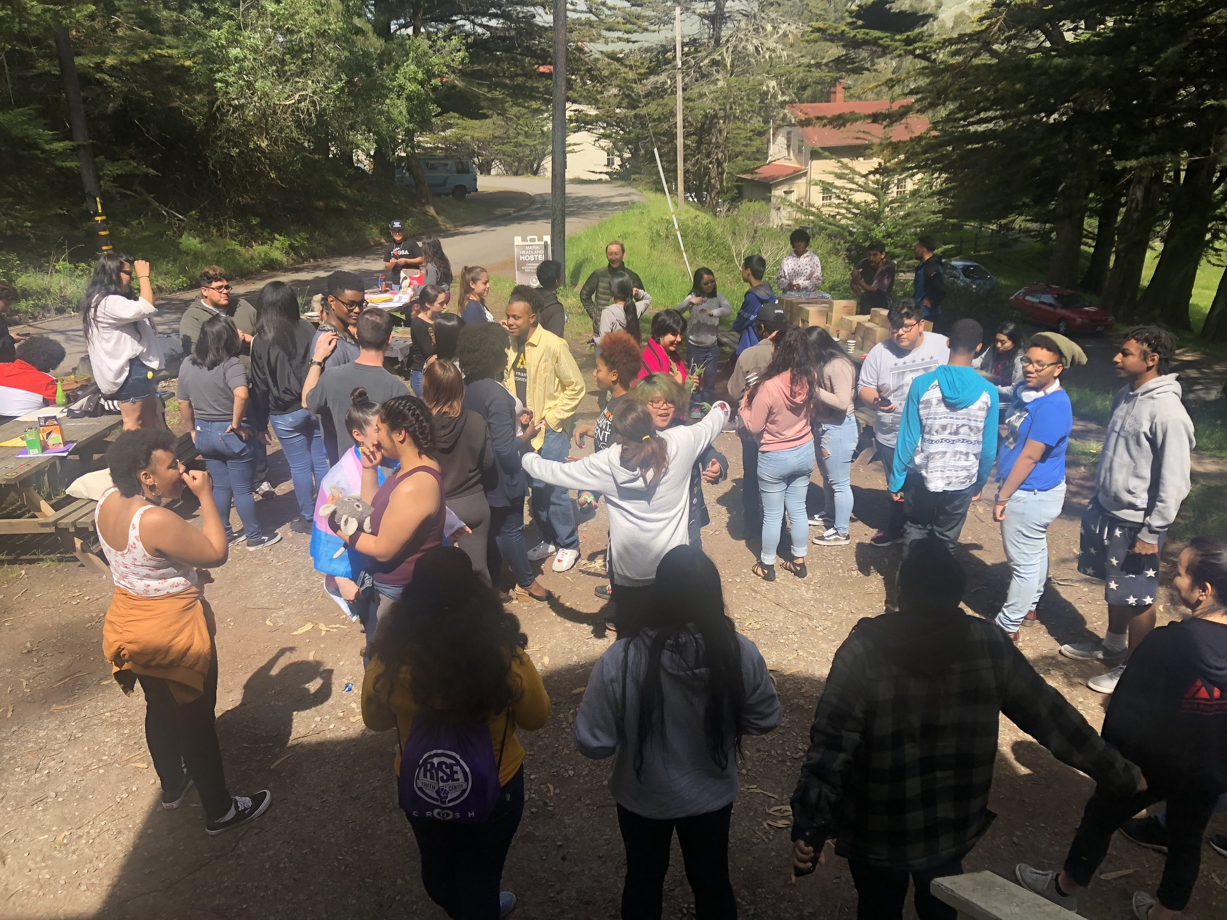 Bay Area Youth Organizing Retreat