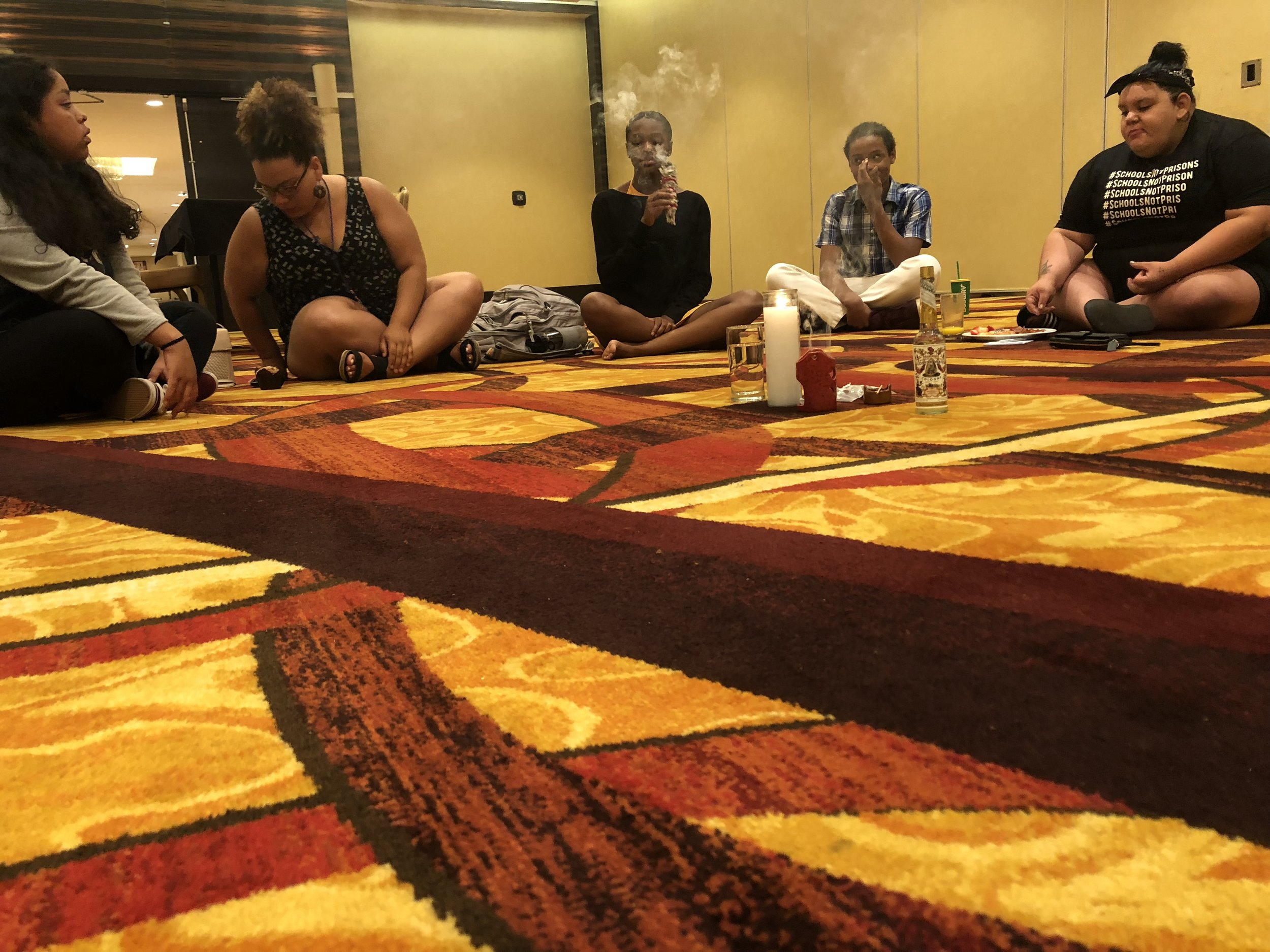 Marlen re-centers healing in Organizing Spaces