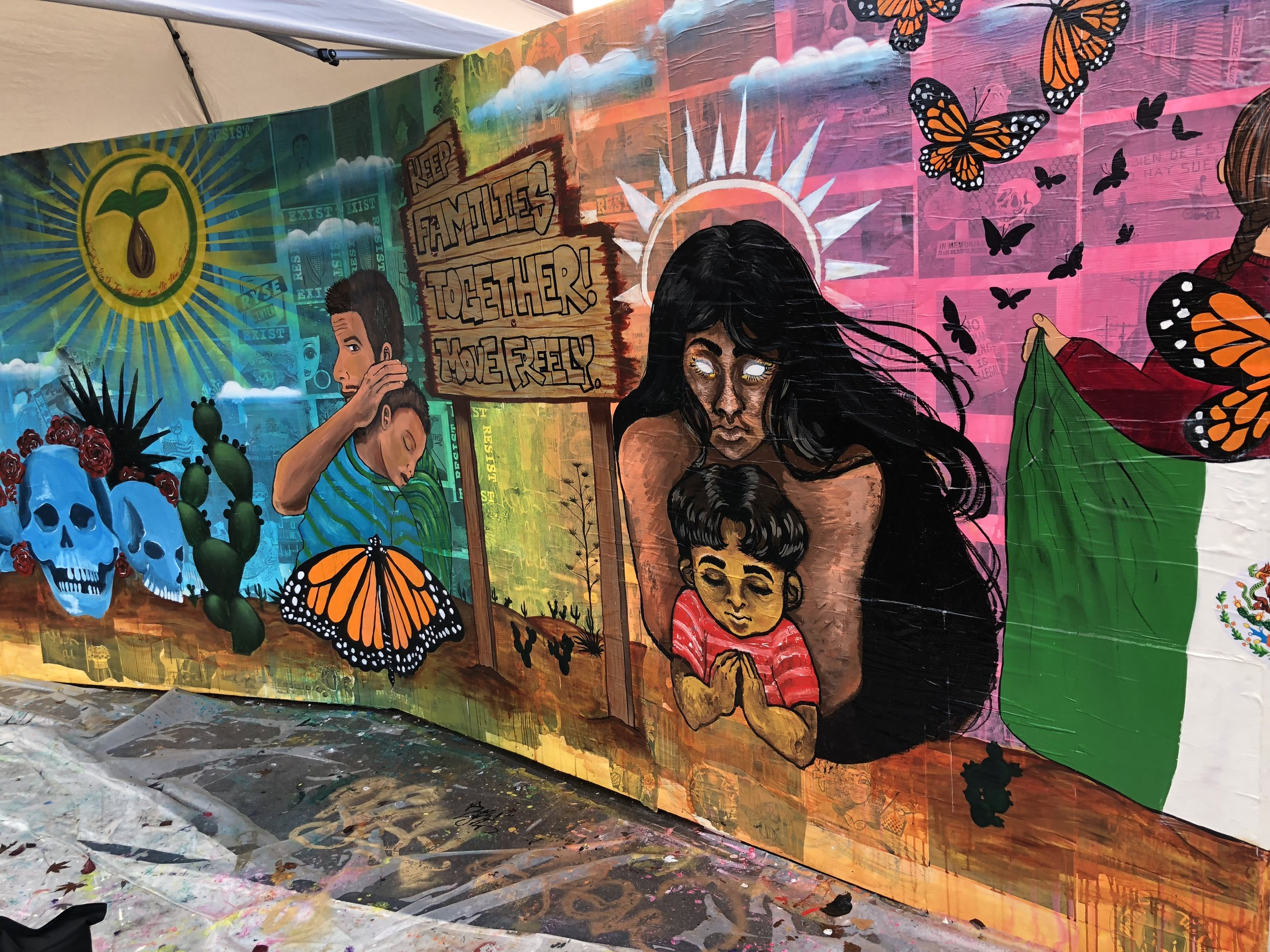 Mural Unveiling: Keep Families Together