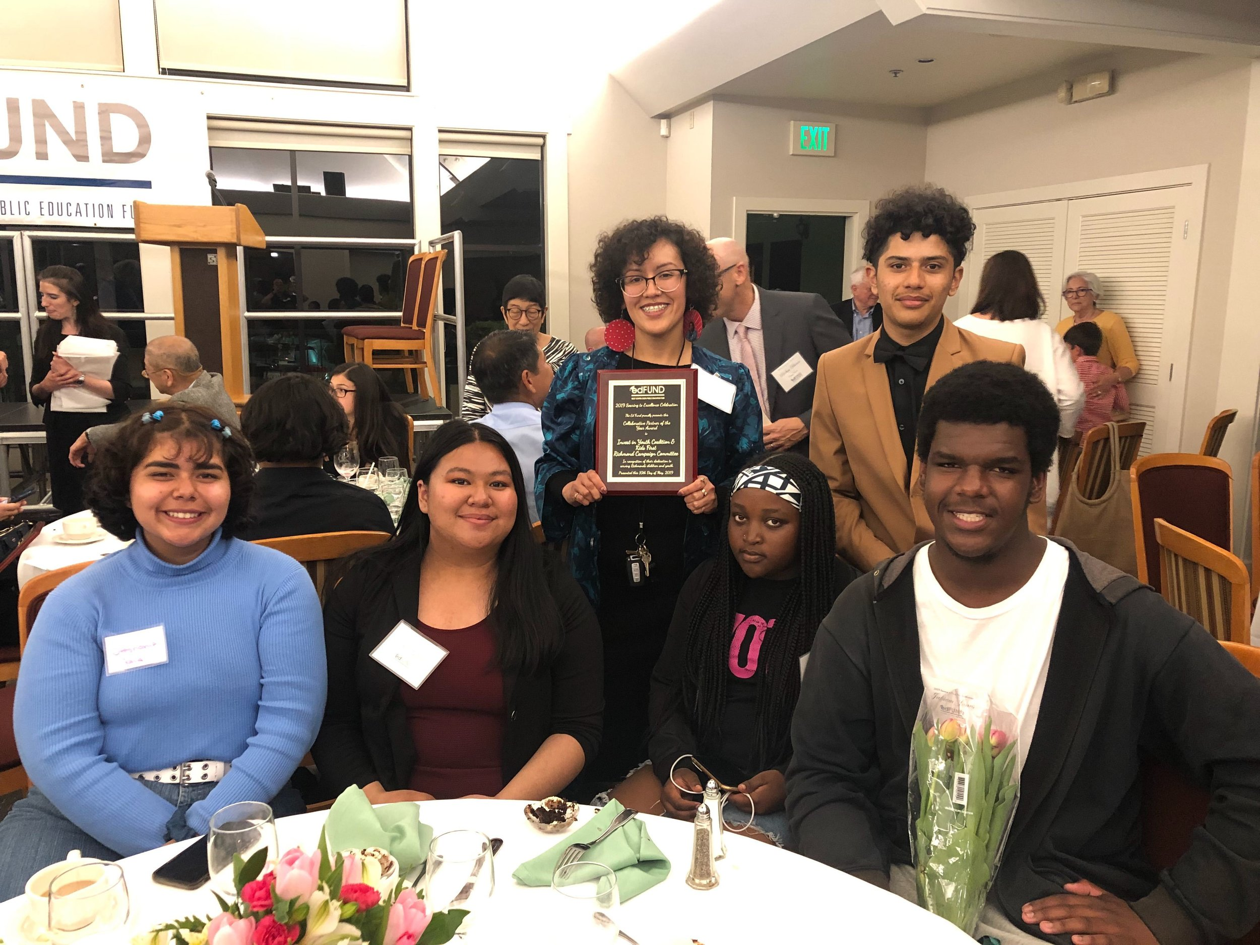 "EdFUND ""Collaborative Partners of the Year"": Youth Coalition & Kids First Richmond Campaign Committee"