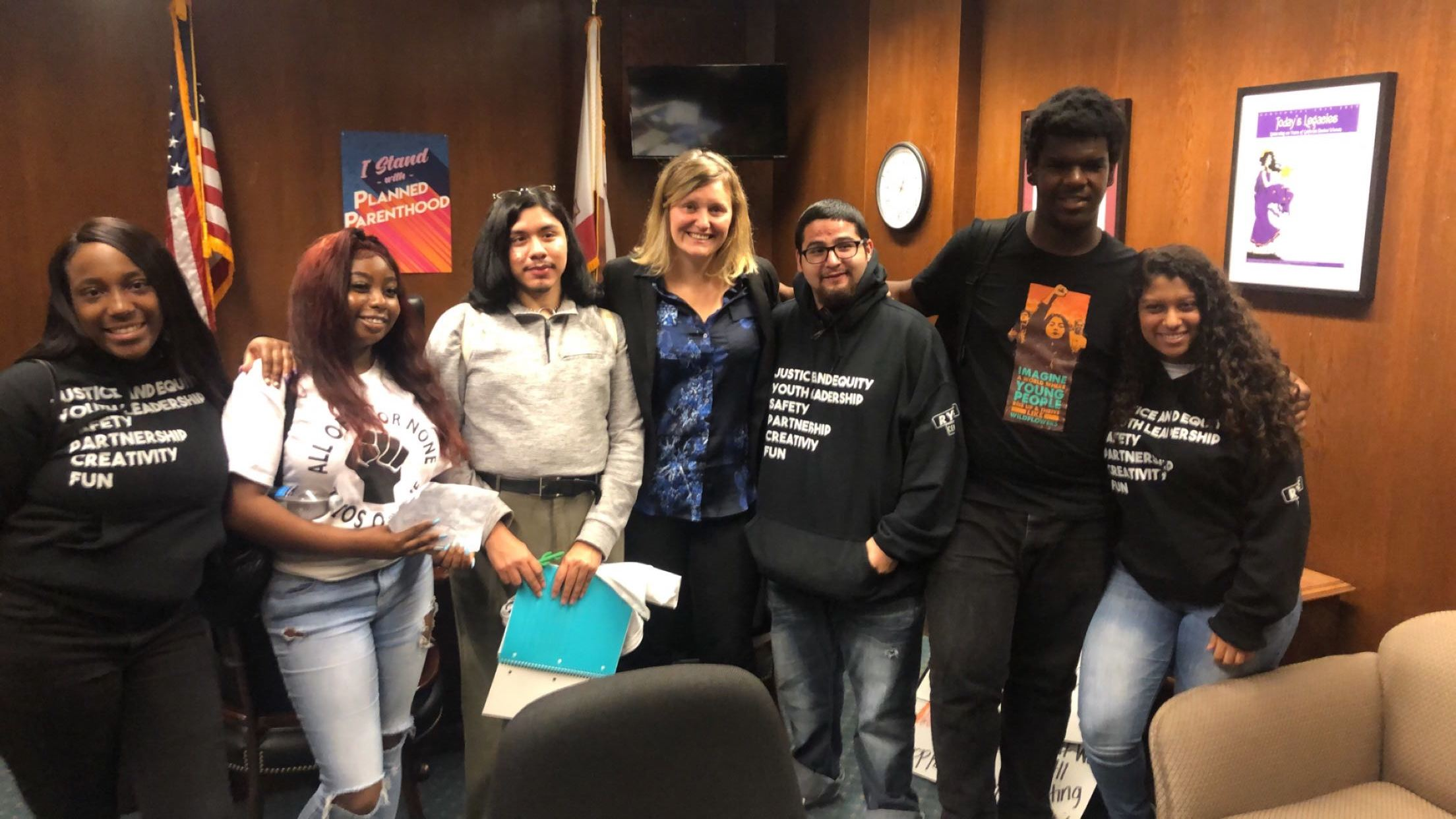 Youth Discussion with Assemblymember Buffy Wicks