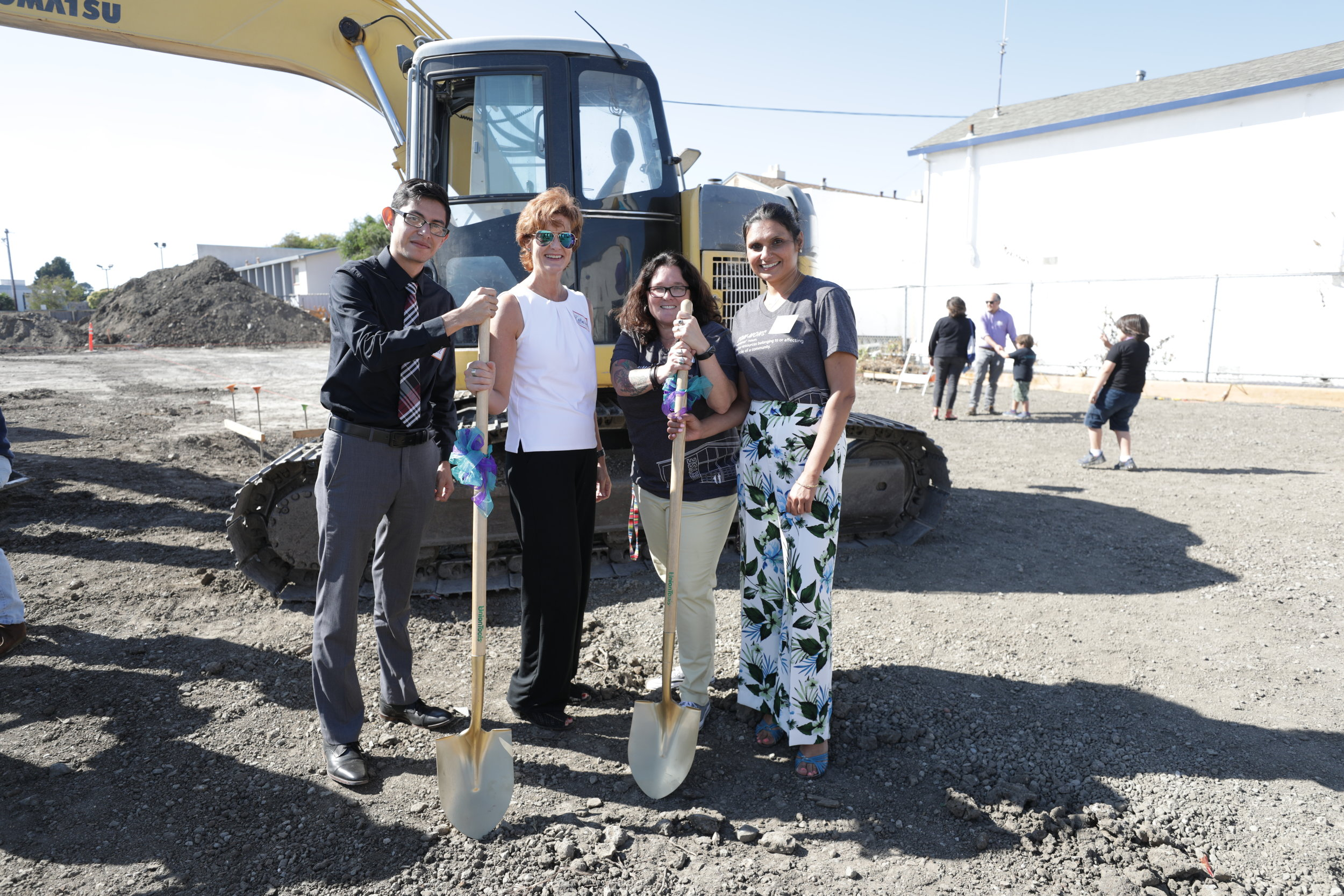 From Left to Right:   Raza Development Fund with RYSE Co-Founders. Miguel Baca, Catherine Kes, Kimberly Aceves-Iniguez, and Kanwarpal Dhaliwal.