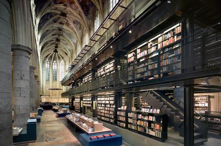 Selexyz, Maastricht. Renovation by Merx + Girod