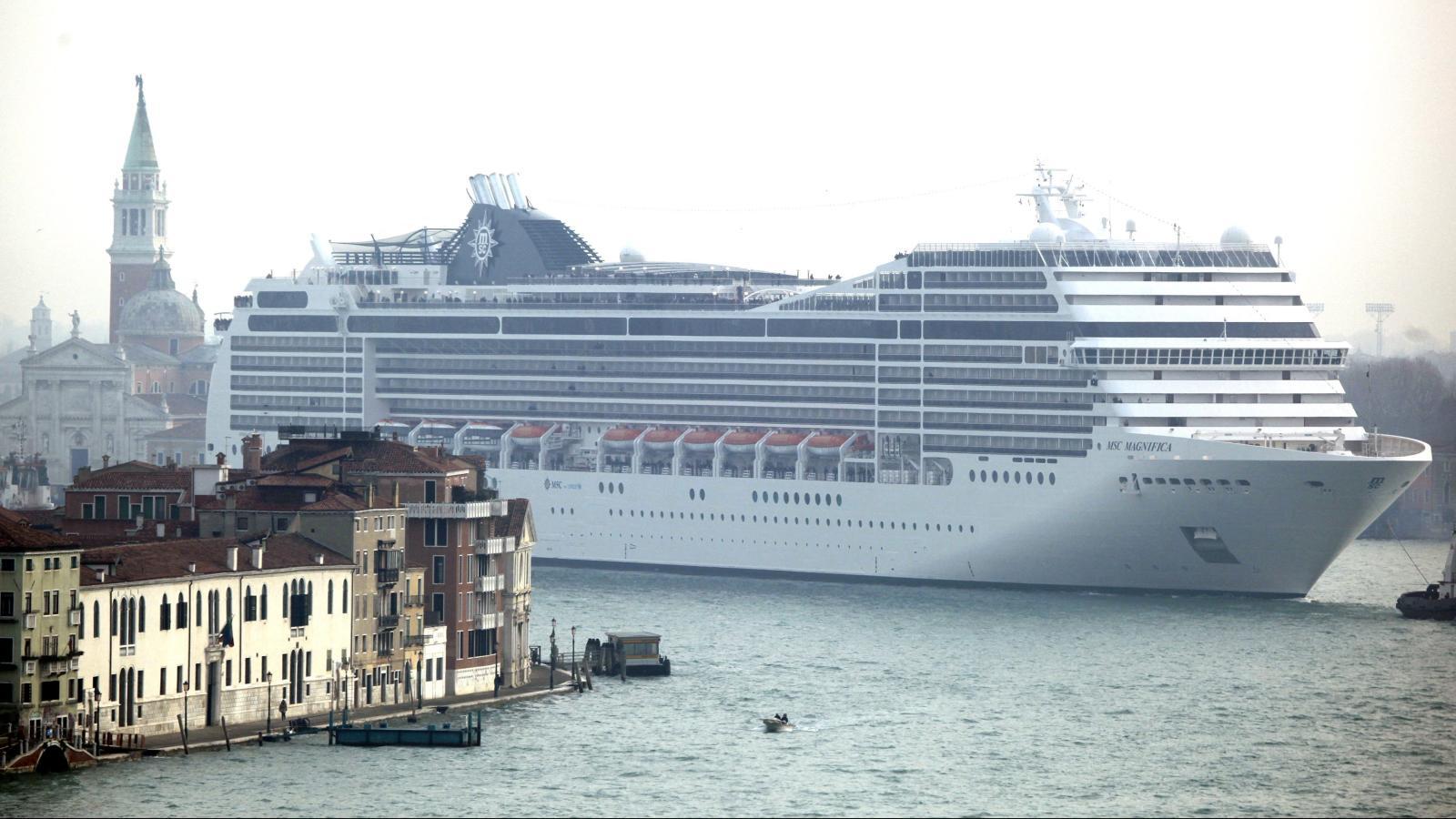November 2017 saw a ban on huge cruise ships in Venice's lagoon.