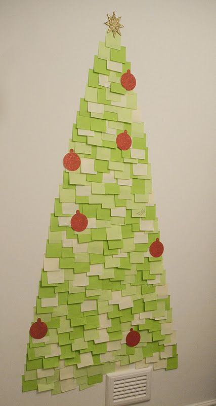 Post It Note Tree